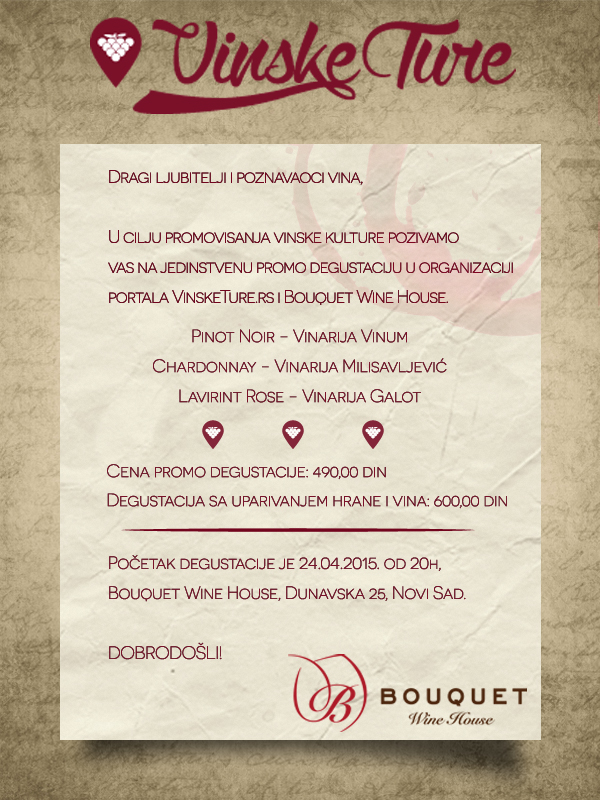 Promocija portala VinskeTure.rs