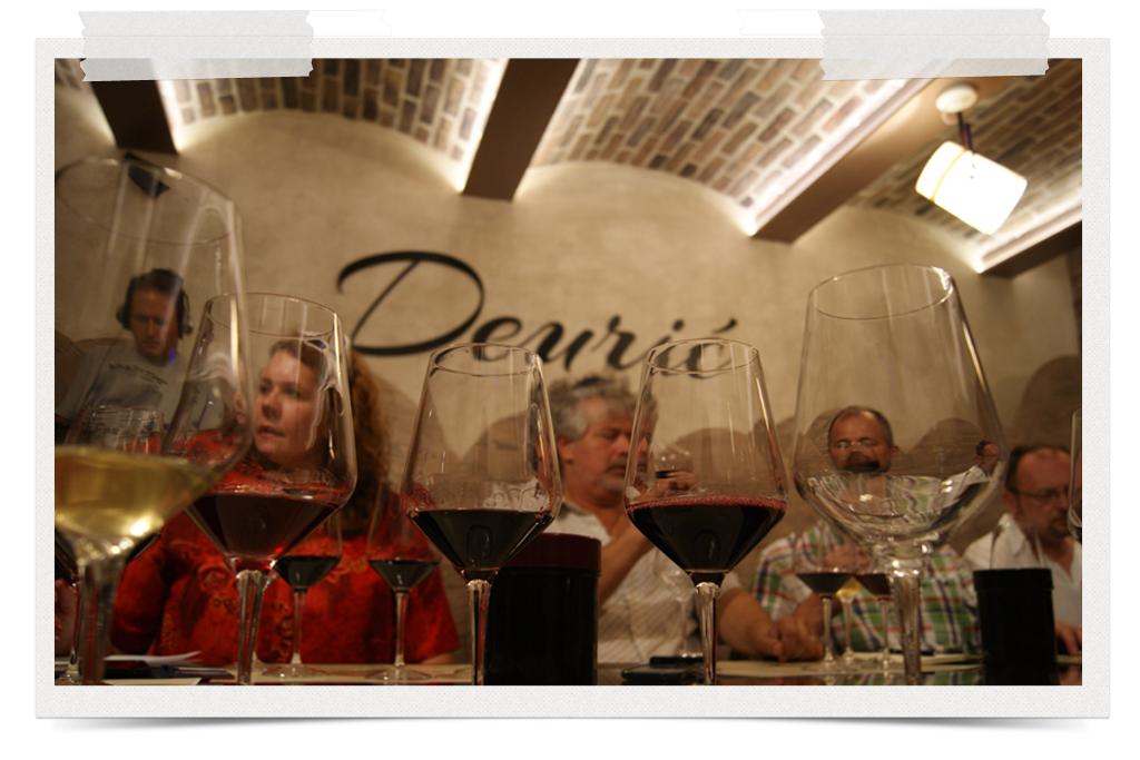 Degustacija vina u novom vinskom podrumu