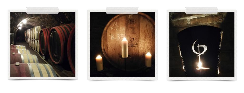 Vinski podrum vinarije Polgar