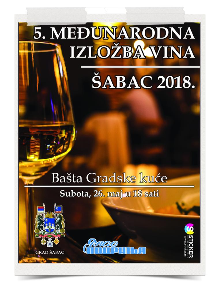 Izložba vina Šabac 2018
